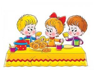 Блюда в год ребенку